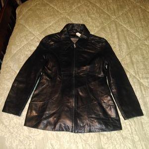 Gorgeous Women's Soft Black Leather